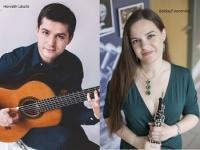 GITÁRMUZSIKA ÓBUDÁN - Horváth László és Baldauf Veronika koncertje